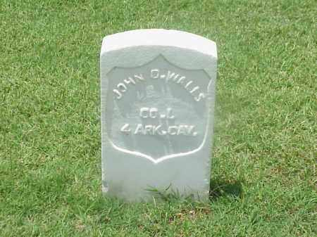 WALLS (VETERAN UNION), JOHN D - Pulaski County, Arkansas | JOHN D WALLS (VETERAN UNION) - Arkansas Gravestone Photos