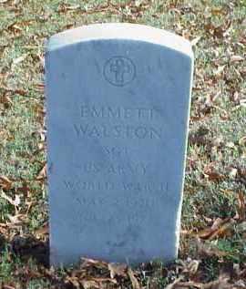 WALSTON (VETERAN WWII), EMMETT - Pulaski County, Arkansas | EMMETT WALSTON (VETERAN WWII) - Arkansas Gravestone Photos