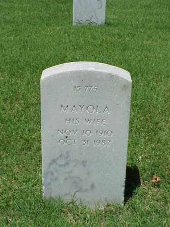 WALTER, MAYOLA - Pulaski County, Arkansas | MAYOLA WALTER - Arkansas Gravestone Photos