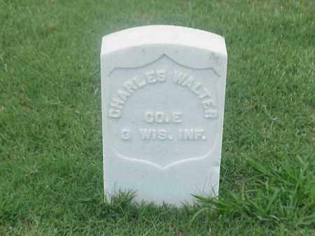 WALTER (VETERAN UNION), CHARLES - Pulaski County, Arkansas | CHARLES WALTER (VETERAN UNION) - Arkansas Gravestone Photos