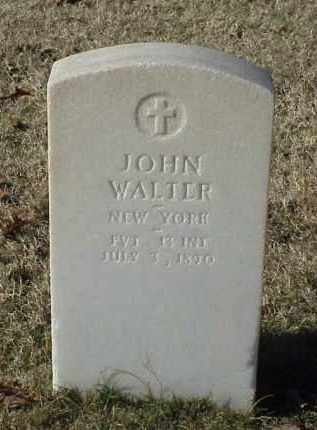 WALTER (VETERAN UNION), JOHN - Pulaski County, Arkansas | JOHN WALTER (VETERAN UNION) - Arkansas Gravestone Photos