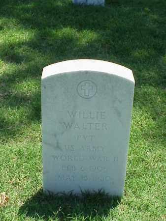 WALTER (VETERAN WWII), WILLIE - Pulaski County, Arkansas | WILLIE WALTER (VETERAN WWII) - Arkansas Gravestone Photos