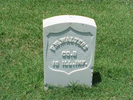 WALTERS (VETERAN UNION), F W - Pulaski County, Arkansas | F W WALTERS (VETERAN UNION) - Arkansas Gravestone Photos