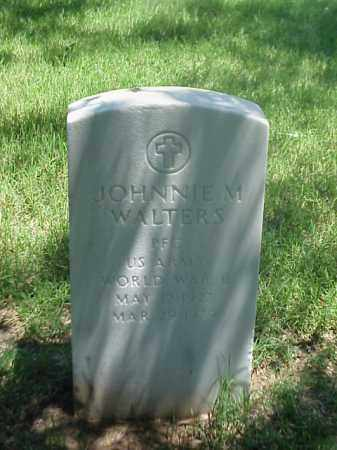 WALTERS (VETERAN WWII), JOHNNIE M - Pulaski County, Arkansas | JOHNNIE M WALTERS (VETERAN WWII) - Arkansas Gravestone Photos