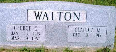 WALTON, GEORGE O - Pulaski County, Arkansas | GEORGE O WALTON - Arkansas Gravestone Photos