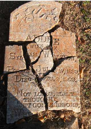 WALTON, ADDIE - Pulaski County, Arkansas | ADDIE WALTON - Arkansas Gravestone Photos