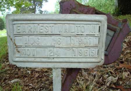 WALTON, EARNEST - Pulaski County, Arkansas   EARNEST WALTON - Arkansas Gravestone Photos