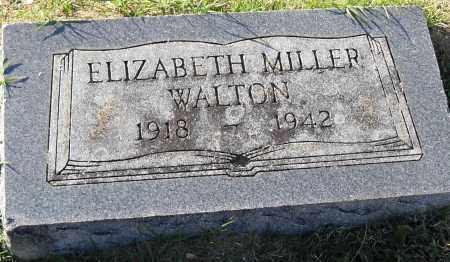 MILLER WALTON, ELIZABETH - Pulaski County, Arkansas | ELIZABETH MILLER WALTON - Arkansas Gravestone Photos