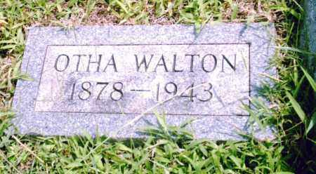 WALTON, OTHA - Pulaski County, Arkansas | OTHA WALTON - Arkansas Gravestone Photos