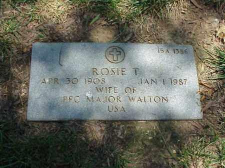 WALTON, ROSIE T - Pulaski County, Arkansas | ROSIE T WALTON - Arkansas Gravestone Photos