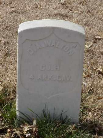 WALTON (VETERAN UNION), D A - Pulaski County, Arkansas | D A WALTON (VETERAN UNION) - Arkansas Gravestone Photos