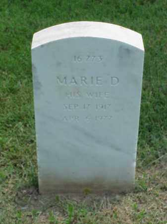 WANO, MARIE D - Pulaski County, Arkansas | MARIE D WANO - Arkansas Gravestone Photos