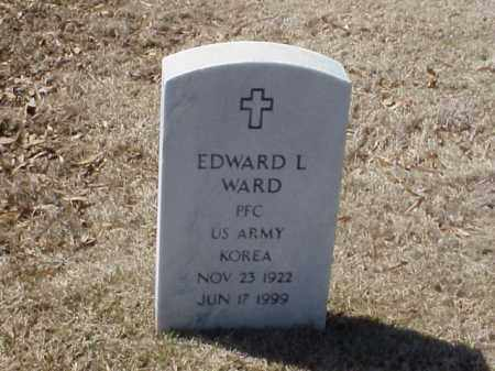 WARD  (VETERAN KOR), EDWARD L - Pulaski County, Arkansas | EDWARD L WARD  (VETERAN KOR) - Arkansas Gravestone Photos