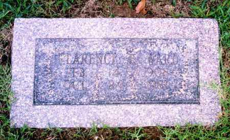 WARD, CLARENCE E. - Pulaski County, Arkansas | CLARENCE E. WARD - Arkansas Gravestone Photos