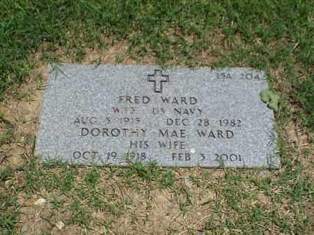 WARD, DOROTHY MAE - Pulaski County, Arkansas   DOROTHY MAE WARD - Arkansas Gravestone Photos