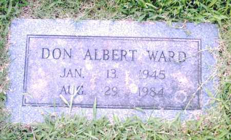 WARD, DON ALBERT - Pulaski County, Arkansas | DON ALBERT WARD - Arkansas Gravestone Photos