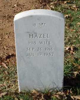 WARD, HAZEL - Pulaski County, Arkansas | HAZEL WARD - Arkansas Gravestone Photos