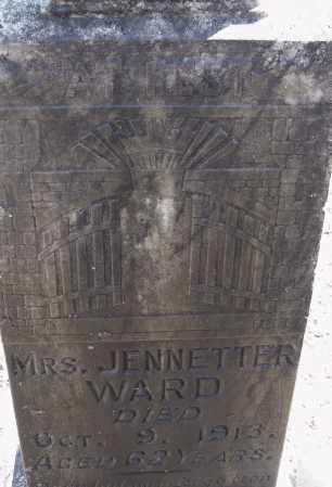 WARD, JENNETTER - Pulaski County, Arkansas | JENNETTER WARD - Arkansas Gravestone Photos