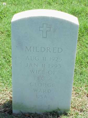 WARD, MILDRED - Pulaski County, Arkansas   MILDRED WARD - Arkansas Gravestone Photos