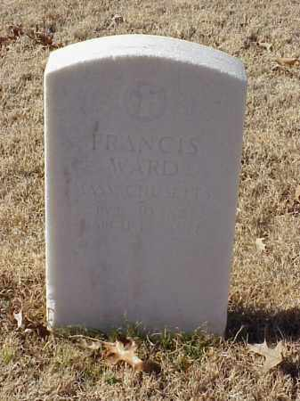 WARD (VETERAN UNION), FRANCIS - Pulaski County, Arkansas | FRANCIS WARD (VETERAN UNION) - Arkansas Gravestone Photos
