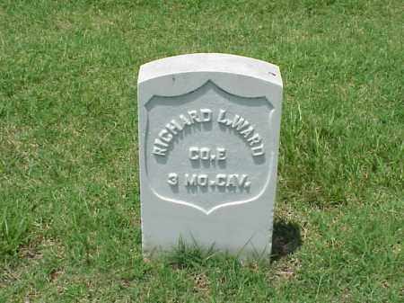 WARD (VETERAN UNION), RICHARD L - Pulaski County, Arkansas | RICHARD L WARD (VETERAN UNION) - Arkansas Gravestone Photos