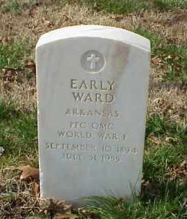 WARD (VETERAN WWI), EARLY - Pulaski County, Arkansas | EARLY WARD (VETERAN WWI) - Arkansas Gravestone Photos