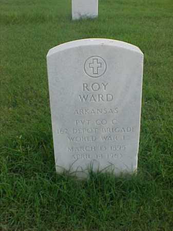 WARD (VETERAN WWI), ROY - Pulaski County, Arkansas | ROY WARD (VETERAN WWI) - Arkansas Gravestone Photos