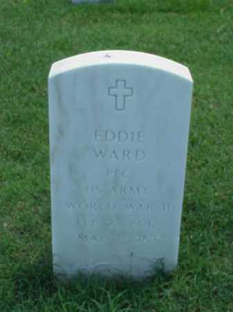 WARD (VETERAN WWII), EDDIE - Pulaski County, Arkansas | EDDIE WARD (VETERAN WWII) - Arkansas Gravestone Photos