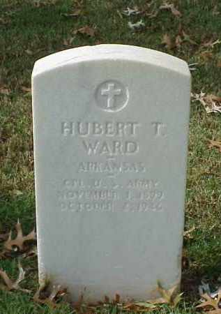 WARD (VETERAN WWII), HUBERT T - Pulaski County, Arkansas | HUBERT T WARD (VETERAN WWII) - Arkansas Gravestone Photos