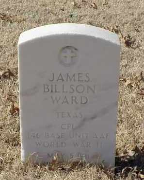 WARD (VETERAN WWII), JAMES BILLSON - Pulaski County, Arkansas | JAMES BILLSON WARD (VETERAN WWII) - Arkansas Gravestone Photos