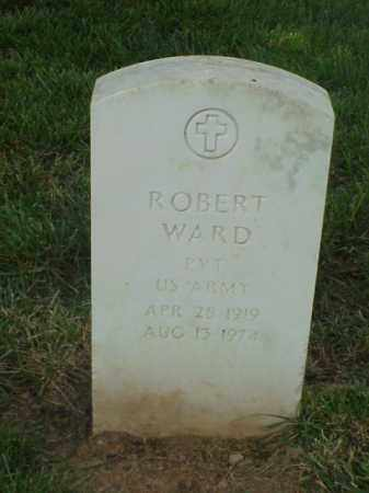 WARD (VETERAN WWII), ROBERT - Pulaski County, Arkansas | ROBERT WARD (VETERAN WWII) - Arkansas Gravestone Photos