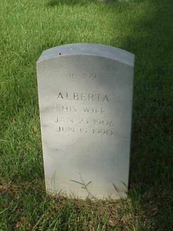 WARE, ALBERTA - Pulaski County, Arkansas | ALBERTA WARE - Arkansas Gravestone Photos