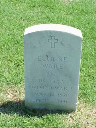 WARE (VETERAN WWI), EUGENE - Pulaski County, Arkansas | EUGENE WARE (VETERAN WWI) - Arkansas Gravestone Photos