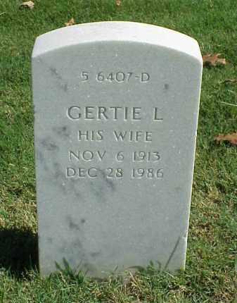 WARFEL, GERTIE L - Pulaski County, Arkansas | GERTIE L WARFEL - Arkansas Gravestone Photos