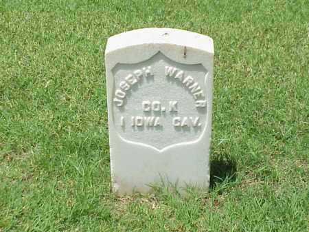 WARNER (VETERAN UNION), JOSEPH - Pulaski County, Arkansas | JOSEPH WARNER (VETERAN UNION) - Arkansas Gravestone Photos