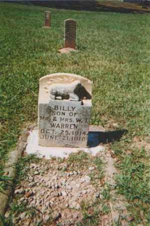WARREN, BILLY - Pulaski County, Arkansas | BILLY WARREN - Arkansas Gravestone Photos