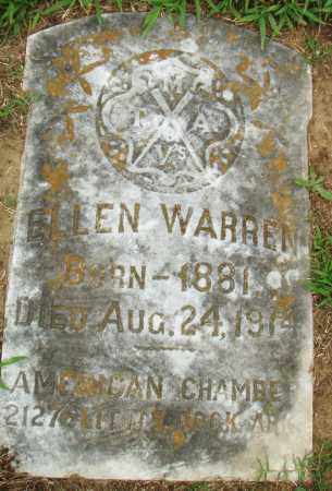 WARREN, ELLEN - Pulaski County, Arkansas | ELLEN WARREN - Arkansas Gravestone Photos