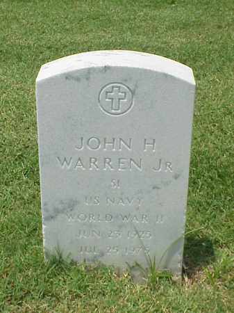 WARREN, JR (VETERAN WWII), JOHN H - Pulaski County, Arkansas | JOHN H WARREN, JR (VETERAN WWII) - Arkansas Gravestone Photos