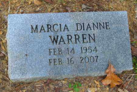 WARREN, MARCIA DIANNE - Pulaski County, Arkansas | MARCIA DIANNE WARREN - Arkansas Gravestone Photos