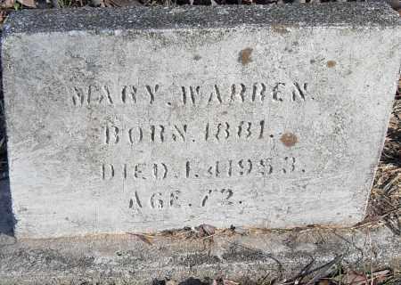 WARREN, MARY - Pulaski County, Arkansas | MARY WARREN - Arkansas Gravestone Photos