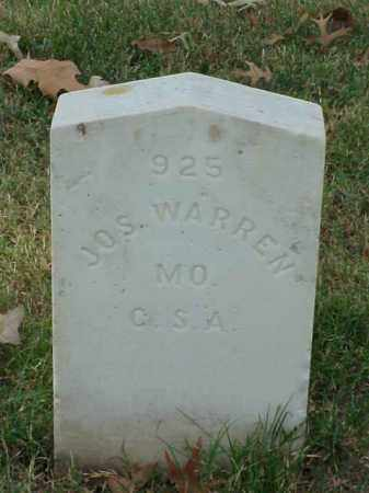 WARREN (VETERAN CSA), JOSEPH - Pulaski County, Arkansas | JOSEPH WARREN (VETERAN CSA) - Arkansas Gravestone Photos
