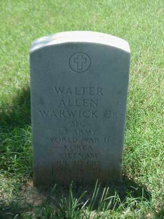 WARWICK, JR (VETERAN 3 WARS), WALTER ALLEN - Pulaski County, Arkansas | WALTER ALLEN WARWICK, JR (VETERAN 3 WARS) - Arkansas Gravestone Photos