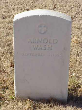 WASH (VETERAN UNION), ARNOLD - Pulaski County, Arkansas | ARNOLD WASH (VETERAN UNION) - Arkansas Gravestone Photos