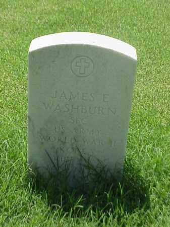 WASHBURN (VETERAN 2 WARS), JAMES E - Pulaski County, Arkansas | JAMES E WASHBURN (VETERAN 2 WARS) - Arkansas Gravestone Photos