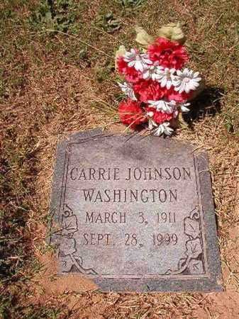 WASHINGTON, CARRIE - Pulaski County, Arkansas | CARRIE WASHINGTON - Arkansas Gravestone Photos