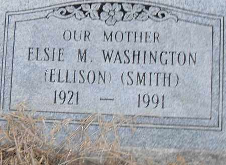ELLISON SMITH WASHINGTON, ELSIE M - Pulaski County, Arkansas | ELSIE M ELLISON SMITH WASHINGTON - Arkansas Gravestone Photos