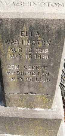 WASHINGTON, GEN GEORGE - Pulaski County, Arkansas | GEN GEORGE WASHINGTON - Arkansas Gravestone Photos