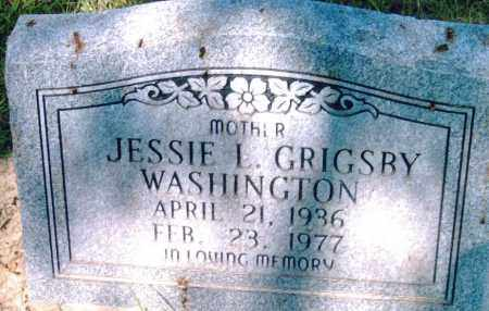 WASHINGTON, JESSIE  L. - Pulaski County, Arkansas | JESSIE  L. WASHINGTON - Arkansas Gravestone Photos