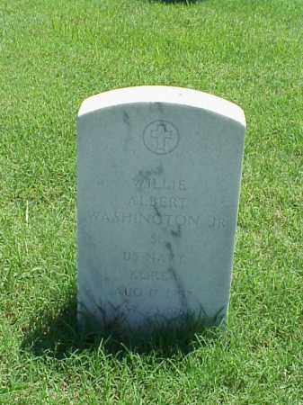 WASHINGTON, JR (VETERAN KOR), WILLIE ALBERT - Pulaski County, Arkansas | WILLIE ALBERT WASHINGTON, JR (VETERAN KOR) - Arkansas Gravestone Photos