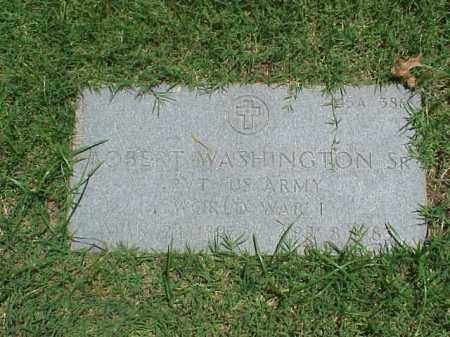 WASHINGTON, SR (VETERAN WWI), ROBERT - Pulaski County, Arkansas | ROBERT WASHINGTON, SR (VETERAN WWI) - Arkansas Gravestone Photos